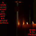 A Candle by Marshall Barth
