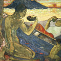 A Canoe by Paul Gauguin