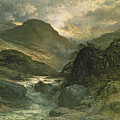 A Canyon by Gustave Dore