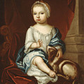 A Child Of The Pierpont Family by Unidentified artist