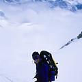 A Climber On The Descent by Bill Hatcher