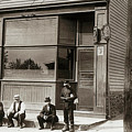 A Coal Miners Bar  George Ave Parsons Pennsylvania Early 1900s by Arthur Miller