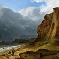 A Coastal Scene by James Arthur O'Connor