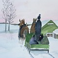 A Cold Ride by Christine Lathrop