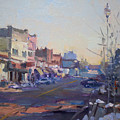 A Cold Sunny Day At Webster St by Ylli Haruni
