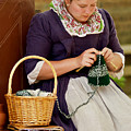 A Colonial Lady Knits by Rachel Morrison