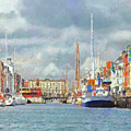A Copenhagen Canal by Digital Photographic Arts