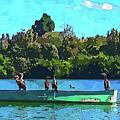 A Cormorant Cruise 2 by Susan Molnar
