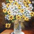 A Country Bouquet by Ruth Bares