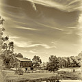 A Country Place 3 - Sepia by Steve Harrington