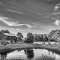 A Country Place Bw by Steve Harrington