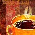 A Cup Of Coffee by Irina Sztukowski