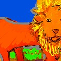 A Curious Lion by Samuel Zylstra