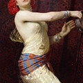 A Damascan Dancer by Otto Pilny