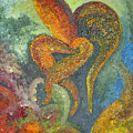 A Dancing Flower by Karina Ishkhanova