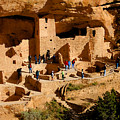 A Day At Mesa Verde by David Lee Thompson