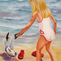 A Day At The Beach by Joni McPherson