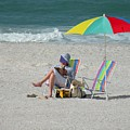 A Day At The Beach by Rosalie Scanlon