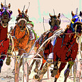 A Day At The Races 2 by Geraldine Scull