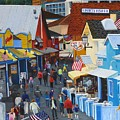 A Day At The Wharf by Jacqueline Davis