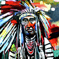 A Decorated Chief 1 by Scott Dykema