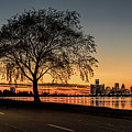 A Detroit Sunset - The View From Belle Isle by Wes Iversen