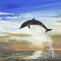 A Dolphin's Life by Donna Mann