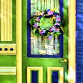 A Door Of Many Colors # 3 by Mel Steinhauer