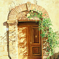 A Doorway In Tuscany by Bob Nolin
