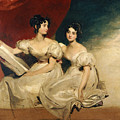 A Double Portrait Of The Fullerton Sisters by Sir Thomas Lawrence