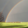 A Double Rainbow by Martie DAndrea