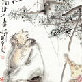 A Drunk by Wu Shanming