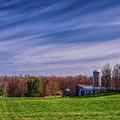 A Farmer's Backyard In Spring by Dale Kauzlaric
