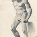 A Faun With Pipes by Richard Parkes Bonington