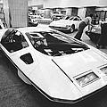 A Ferrari Modulo At Auto Show by Underwood Archives