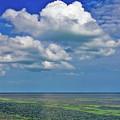 A Few Clouds In Keywest by Bob Slitzan