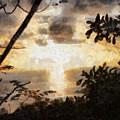 A Fiery Sunset by Ashish Agarwal
