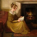 A Fireside Read by William Mulready
