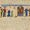 A Folio From Hafiz-i Abru's Majma Al-tawarikh by Celestial Images