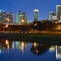 A Fort Worth Night by Frozen in Time Fine Art Photography