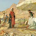 A Frank Encampment In The Desert Of Mount Sinai 1842 by John Frederick Lewis