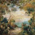 A Garden In Sorrento by Pierre Auguste Renoir