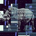 A Geometric Rhinoceros. by Anthony Murphy