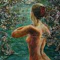 A Girl In Lake by Sylva Zalmanson