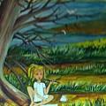 A Girl Near The Pond by Michelle Caraballo