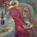 A Glass Of Red by Diane Leonard