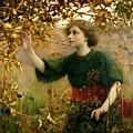 A Golden Dream by Thomas Cooper Gotch