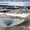 A Good Question by Mary Haber