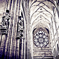 A Gothic Church by Madeline Ellis