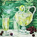 A Gourmet Cover Of Glassware by Hilary Knight
